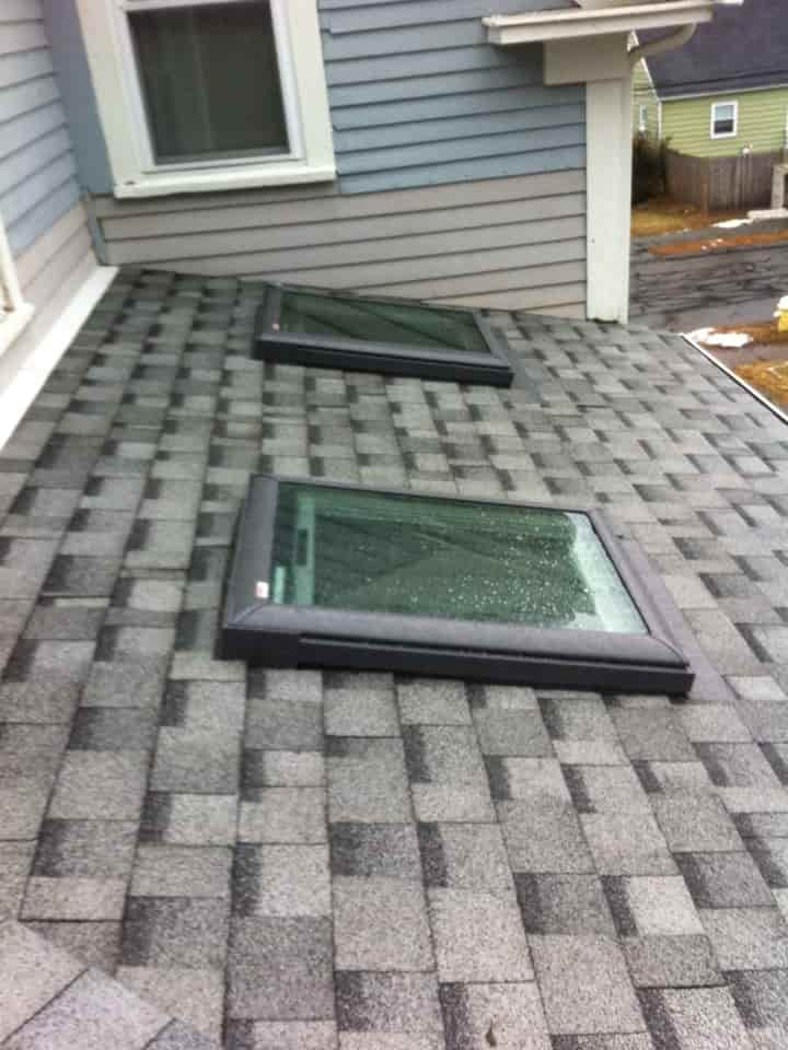 Skylight Replacement and Roofing in Danvers MA