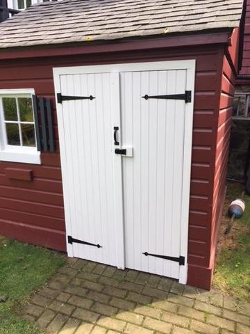 Shed Door Replacement Project In Marblehead Ma A Amp A