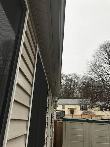 New Gutter System In Lynn Ma A Amp A Services Home Improvement