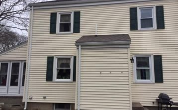 Shutter Replacement Project in Marblehead, MA
