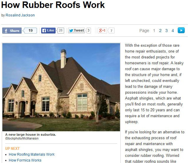 How Rubber Roofs Work Image
