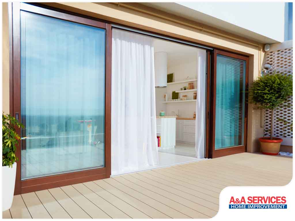 4 Sliding Patio Door Myths And The Truth Behind Them A A Services Home Improvement